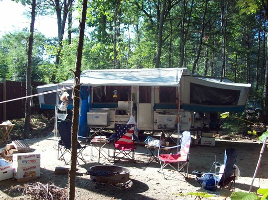 Woodmore Campground: Our humble home away from home