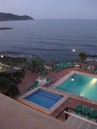 Hotel Atolon: Vista desde la azotea del edificio principal