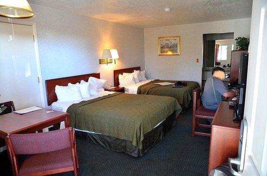 Quality Inn: Notre chambre