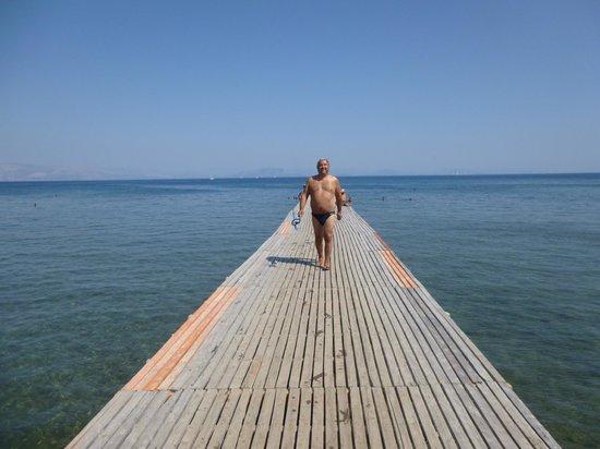 Arion Hotel: plage Mon Repos