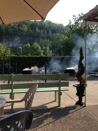 Pelletier's Restaurant & Fish Boil: View from our table