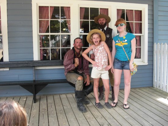 Grand daughter fun day at Frontier Town.