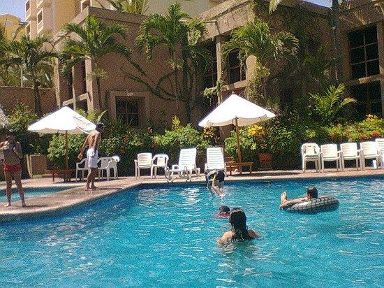 Villas El Rancho Green Resort: Albercas limpias, permiten utilizarlas hasta las nueve de la noche y están en excelentes condici