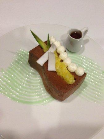 Restaurant Hiely Lucullus : Baba au rhum