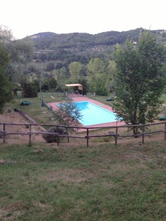 San Lorenzo della Rabatta: Het zwembad