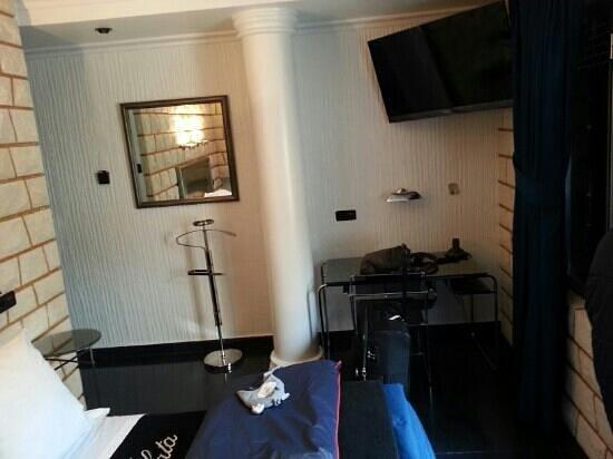 Hotel Plata: habitación individual