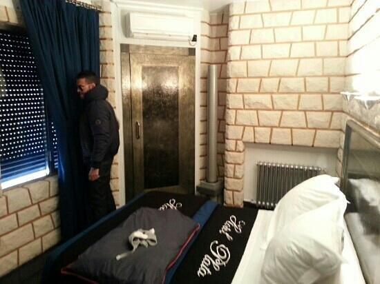 Hotel Plata: habitación individual 1