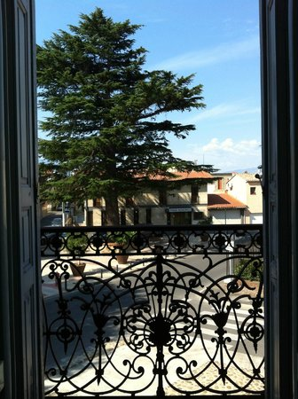 Les Buis: View from our bedroom