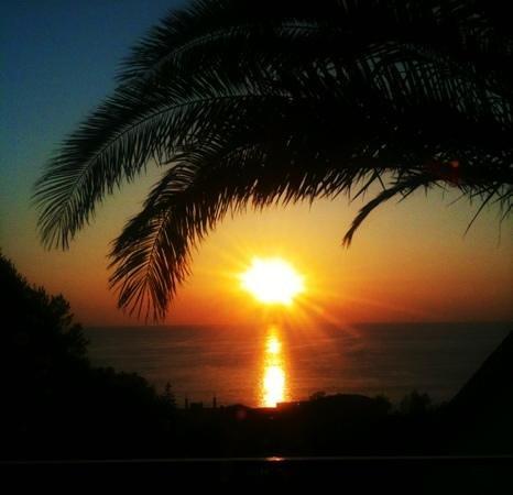 Hotel San Paolo: stupendo tramonto