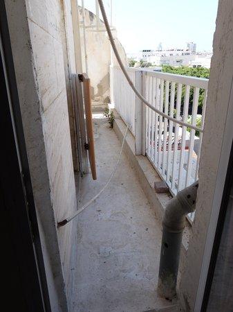 Arlozorov Hotel: ¡¡La terraza¡¡