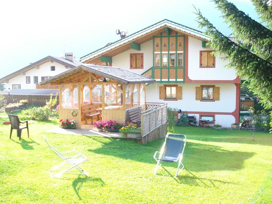 Hotel Latemar Spitze : hotel Latemar - pertinenze