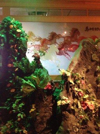 Fuji: Inside decorations