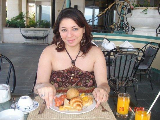 Broumana Hotel & Spa : Café da manhã Hotel e Spa Brouma Líbano