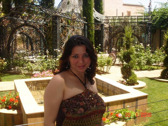 Broumana Hotel & Spa: Jardim Hotel e Spa Broumana Líbano