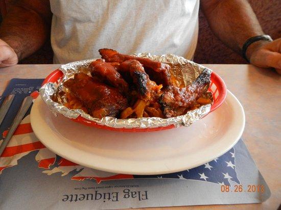 Marysville Diner: rib basket