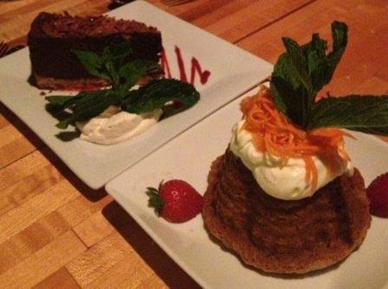 Bandaloop: Both desserts were fantastic!