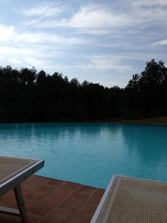 Acquaghiaccia Country House: lo spicchio di piscina