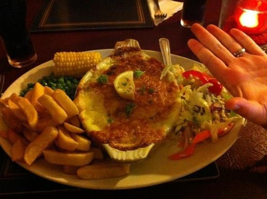 Wellington Inn: large dinners