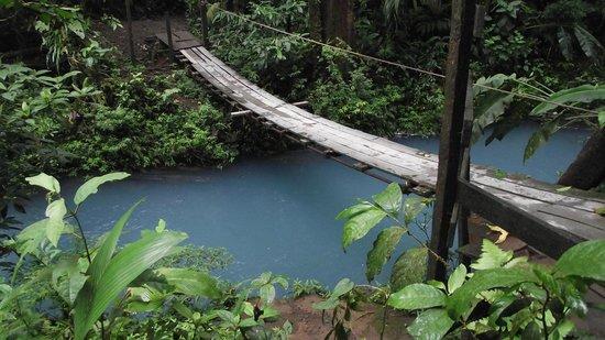 Rio Celeste: Le lagon bleu