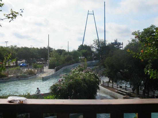The Resort at Schlitterbahn : View from the Tree Haus Balcony