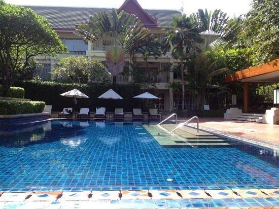 The Club Pool area
