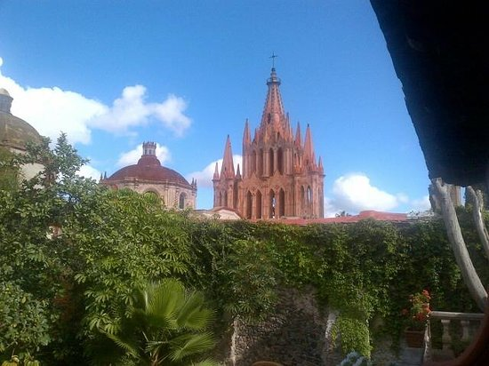 Coqueta Hotel Boutique: Desde la terraza de la habitación!!
