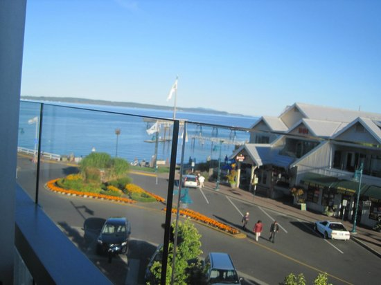 The Sidney Pier Hotel & Spa: View from classic king room