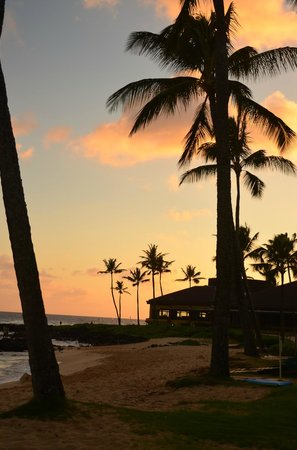 Sheraton Kauai Resort: Beautiful sunset