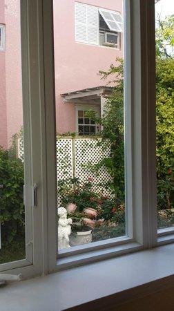 Pembroke, Islas Bermudas: View out my large windows