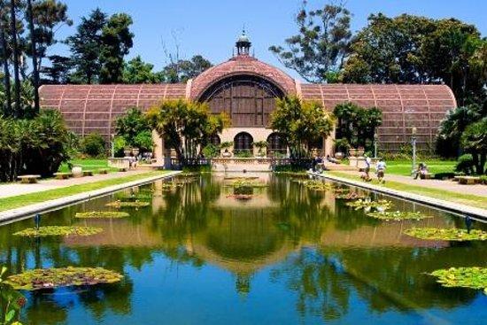 Botanical Garden With Lotus Pond Picture Of Balboa Park San Diego Tripadvisor
