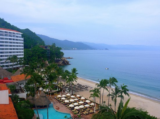 Hyatt Ziva Puerto Vallarta: View from our hotel room balcony.