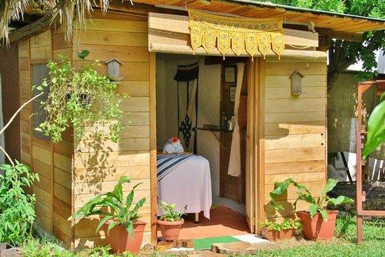 Bacalar, Mexico: Cabaña de masajes