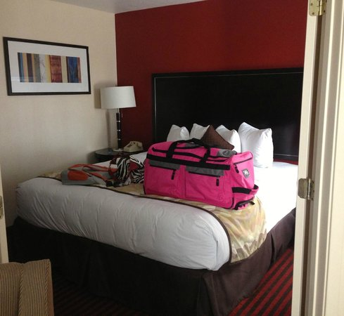 HYATT House Dallas/Las Colinas : king bed in room 1
