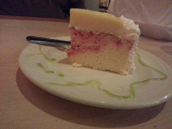Nicky D's Pizza: Key Lime Pie Strawberry Cheesecake YUM!