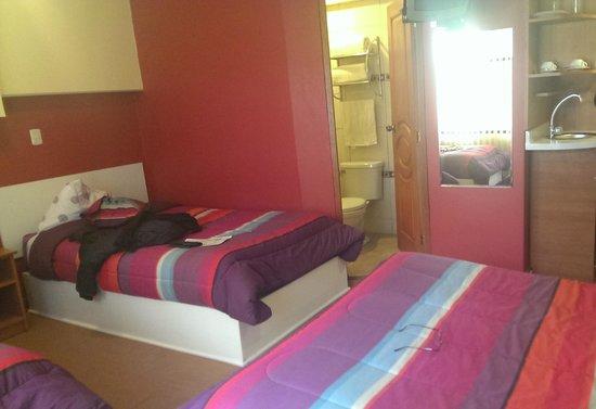El Mariscal Cusco: Interior de la habitación