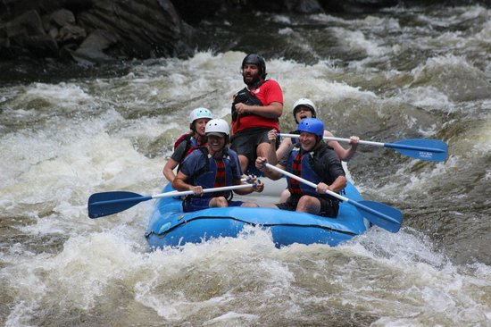 River Rat Whitewater: USAraft with Menzo as our guide!