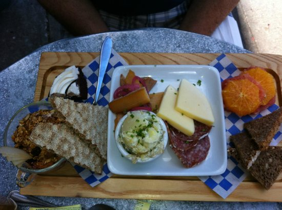 Broder: Swedish breakfast bord