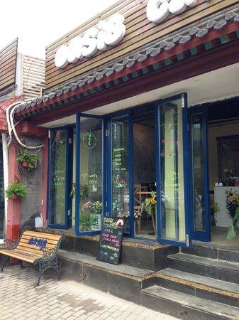 Oasis Cafe: the door