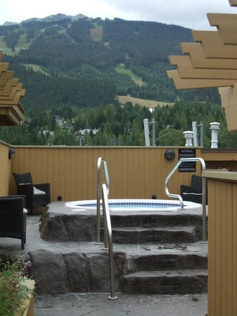 Sundial Boutique Hotel : Rooftop hot tub & view