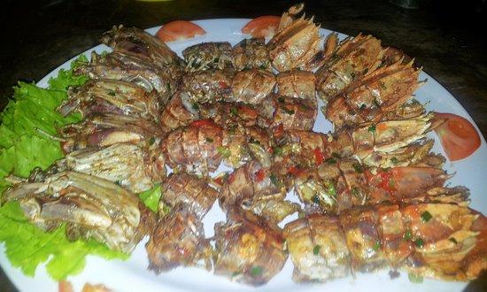 Casablanca: D.fried mantis prawn