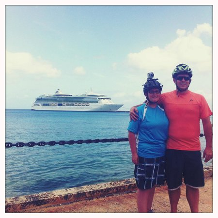 Virgin Islands Bike and Trails : Cruise ship