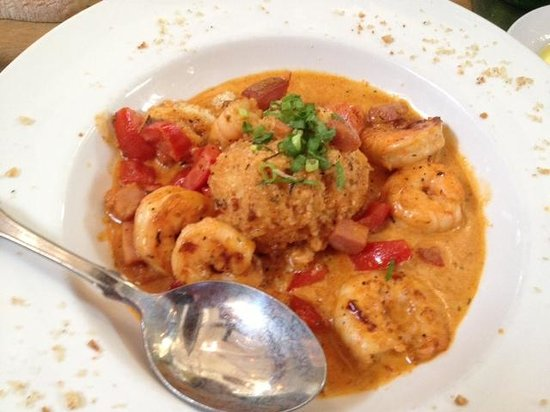 Loved the shrimp and grits! - Picture of Striper Bites, Lewes - TripAdvisor