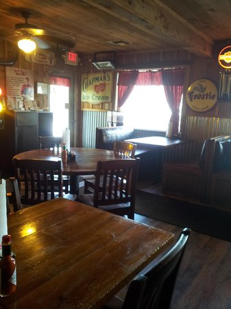 View of Red Barn BBQ