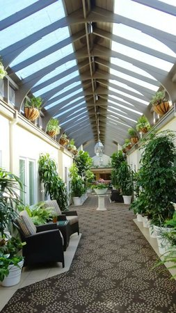 Hotel Vista Del Mar : Corridor