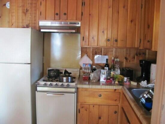 Fenstad's Resort: kitchenette