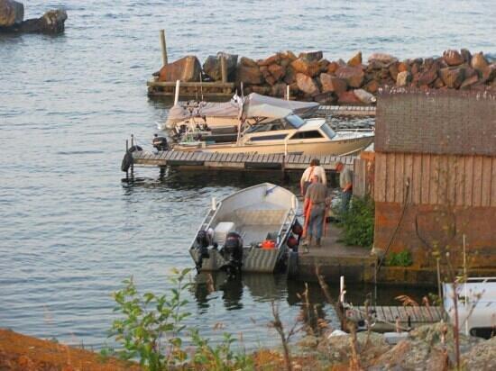 Fenstad's Resort: harbor