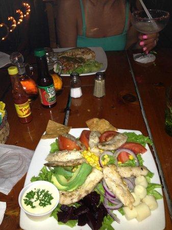Restaurante Buru: Tuna salad
