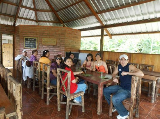 Comunidad Shiripuno : En el almuerzo