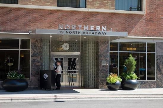 Northern Hotel: Entrance
