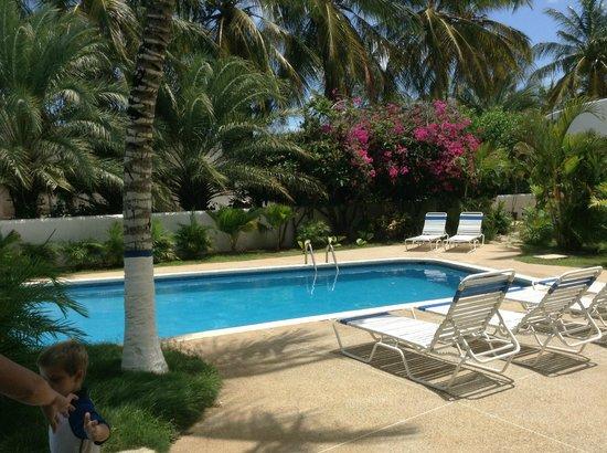 Hotel California: Área de la piscina